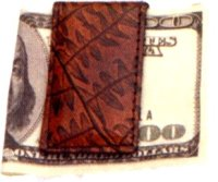 Click to see large Magnetic Money Clip
